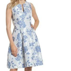 💣5/$25💣 Eliza J Fit and Flare Tea Length Dress